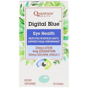 Кванту Хелс, Digital Blue, Eye Health, 60 Softgels отзывы