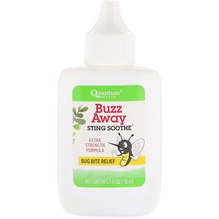 Quantum Health, Soulagement des piqûres, soulagement des piqûres d'insectes, formule extra-forte, 30 ml (1 oz)
