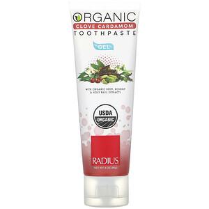 Радиус, Organic Gel Toothpaste, Clove Cardamom, 3 oz (85 g) отзывы