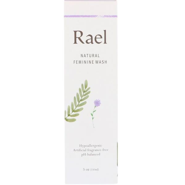 Rael, Natural Feminine Wash, 5 oz (150 ml) (Discontinued Item)