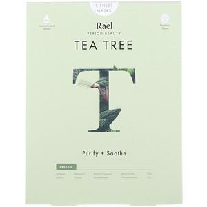 Rael, Tea Tree Sheet Masks, 5 Sheets отзывы