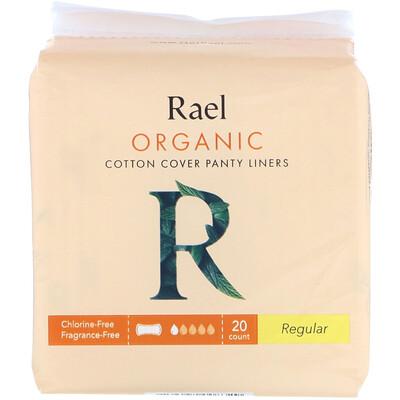 Купить Rael Ежедневные прокладки из органического хлопка, обычного размера, 20шт.