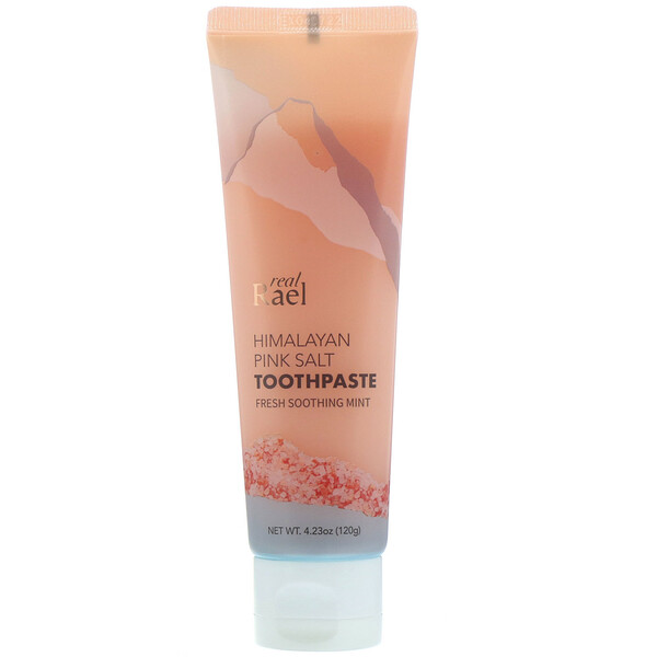 Himalayan Pink Salt Toothpaste, Fresh Soothing Mint, 4.23 oz (120 g)
