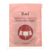 Heating Patch for Menstrual Cramps, 3 Patches, 0.7 oz Each - фото