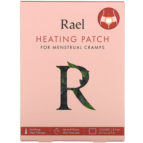 Heating Patch for Menstrual Cramps, 3 Patches, 0.7 oz Each