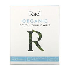 Rael, 有機棉女性濕巾,10 片