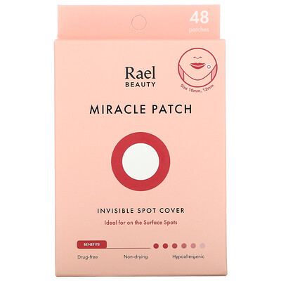 Купить Rael Miracle Patch, Invisible Spot Cover, 48 Patches
