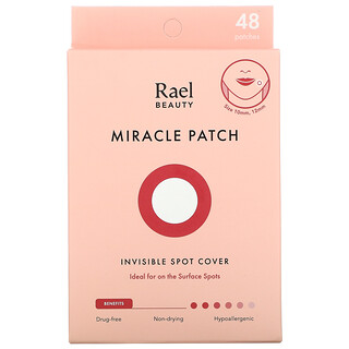Rael, Miracle Patch, Invisible Spot Cover, 48 Patches