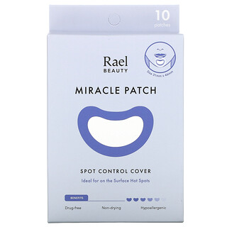 Rael, Miracle Patch, Spot Control Cover, 10 Patches