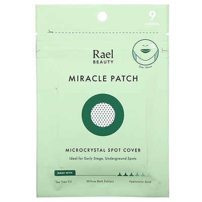 Купить Rael Miracle Patch, Microcrystal Spot Cover, 9 Patches