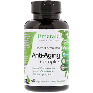 Emerald Laboratories, Anti-Aging Complex, 60 Vegetable Caps
