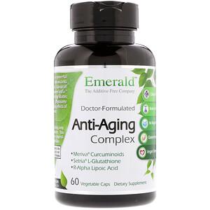 Эмеральд Лабораторис, Anti-Aging Complex, 60 Vegetable Caps отзывы