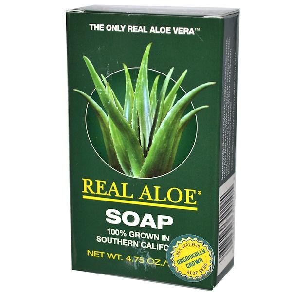 Real Aloe Inc., Soap, 4.75 oz (135 g) (Discontinued Item)