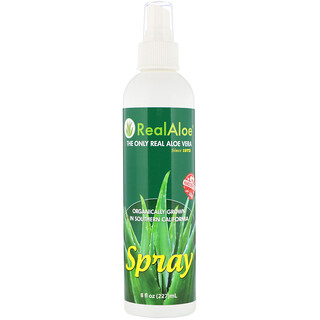 Real Aloe Inc., Aloe Vera Spray, 8 oz (227 ml)