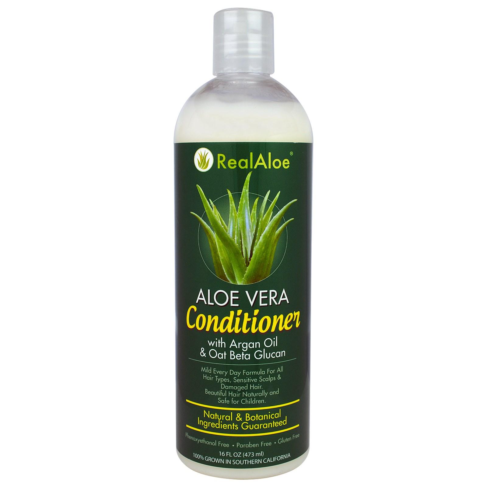 Real Aloe Inc., Кондиционер с алоэ вера, 16 жидких унций (473 мл)