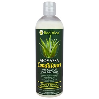 Real Aloe Inc., Aloe Vera Conditioner, 16 fl oz (473 ml)