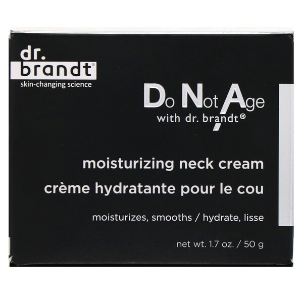 Dr. Brandt, Do Not Age, Moisturizing Neck Cream, 1.7 oz (50 g)