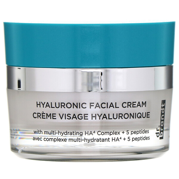 Hyaluronic Facial Cream, 1.7 oz (50 g)
