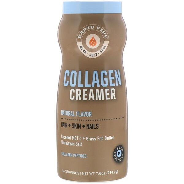 Crema de colágeno, Sabor natural, 214,2g (7,6oz)