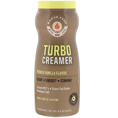 Купить RAPIDFIRE Turbo Creamer, сливки со вкусом французской ванили, 250г (8, 8унции)