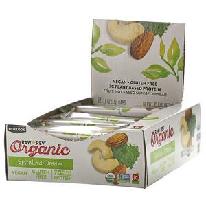 Ро Революшен, Organic Live Food Bar, Spirulina Dream, 12 Bars, 1.8 oz (51 g) Each отзывы