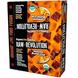 Ро Революшен, Organic Live Food Bar, Almond Butter Cup, 12 Bars, 1.8 oz (51 g) Each отзывы