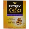 Raw Revolution, Glo, Crunchy Peanut Butter & Sea Salt, 12 Bars, 1.6 oz (46 g)