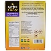 Raw Revolution, Glo, Crunchy Peanut Butter & Sea Salt, 12 Bars, 1.6 oz (46 g)