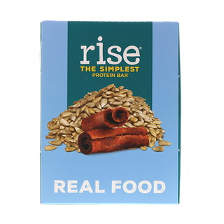 Rise Bar, The Simplest Protein Bar, Sunflower Cinnamon, 12 Bars, 2.1 oz (60 g) Each