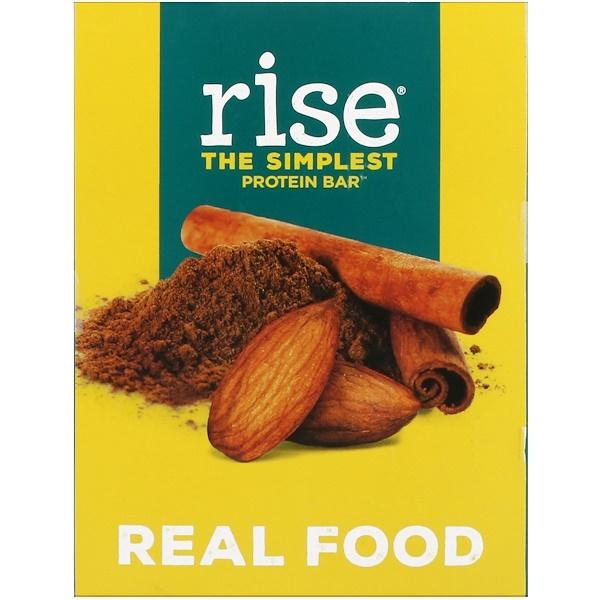 Rise Bar, 蛋白棒,小圓餅,12條,每條2、1盎司(60克)