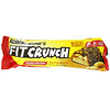 FITCRUNCH, батончик с термообработанным сывороточным протеином, арахисовой пастой и фруктовым джемом, 12батончиков по 88г (3,10унции) каждый