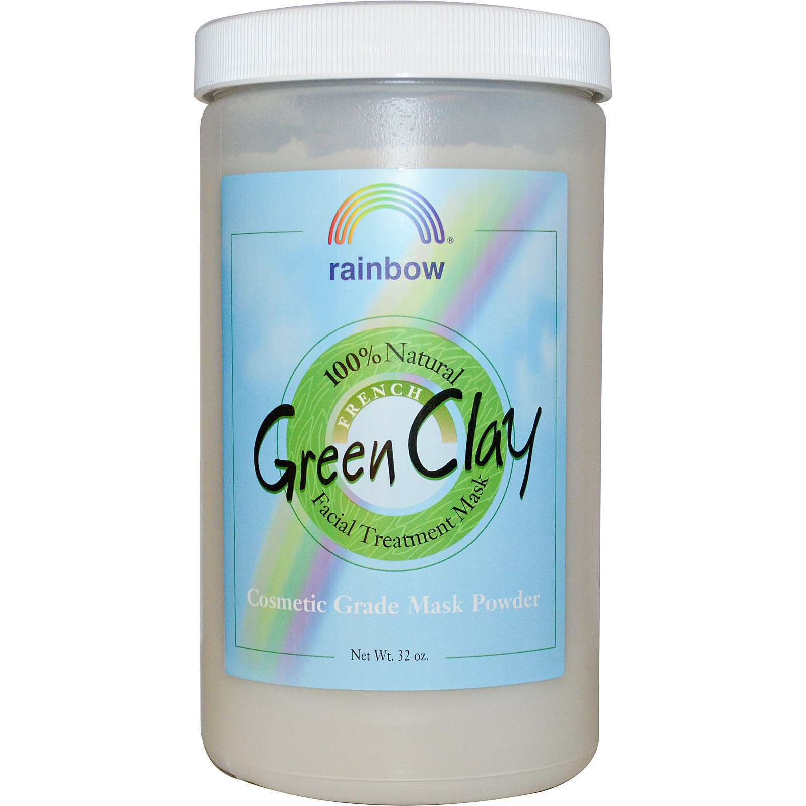 Rainbow Research, French Green Clay, Facial Treatment Mask ...