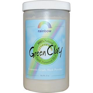 Rainbow Research, French Green Clay, Facial Treatment Mask Powder, 2 lbs (32 oz)