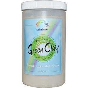 Рэйнбоу Ресерч, French Green Clay, Facial Treatment Mask Powder, 2 lbs (32 oz) отзывы