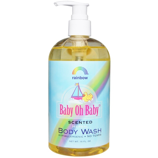 Rainbow Research, Baby Oh Baby, Herbal Body Wash, Scented, 16 fl oz