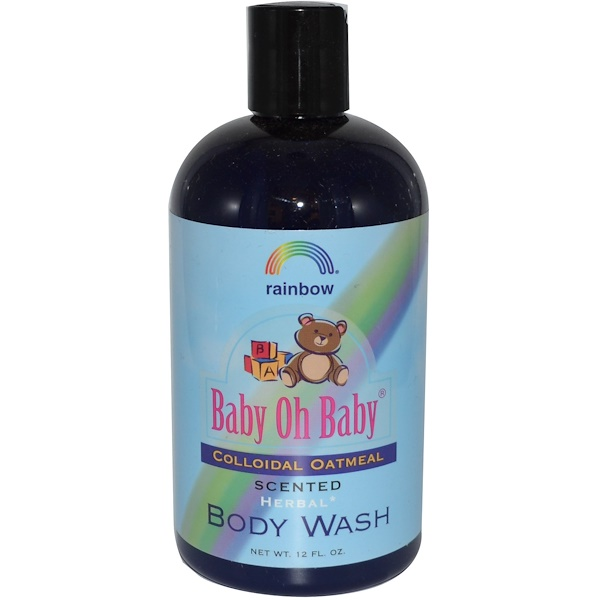 Rainbow Research, Baby Oh Baby, Body Wash, Colloidal Oatmeal, Scented, 12 fl oz (Discontinued Item)