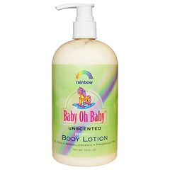 Rainbow Research, Baby Oh Baby、ボディーローション、無香、16 fl oz