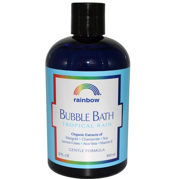 Rainbow Research, Bubble Bath, Tropical Rain, 12 fl oz (360 ml) (Discontinued Item)