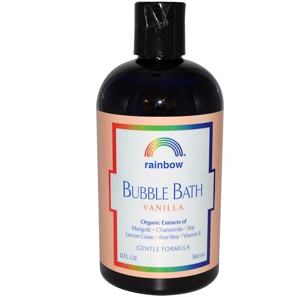 Rainbow Research, Bubble Bath, Vanilla, 12 fl oz (360 ml) (Discontinued Item)