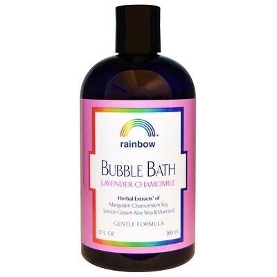 Купить Rainbow Research Пена для ванны с лавандой и ромашкой, нежная формула, 12 жидких унций (360 мл)