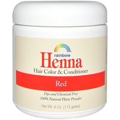 цена на Краска и кондиционер для волос с хной, рыжий, 113 г (4 унции)