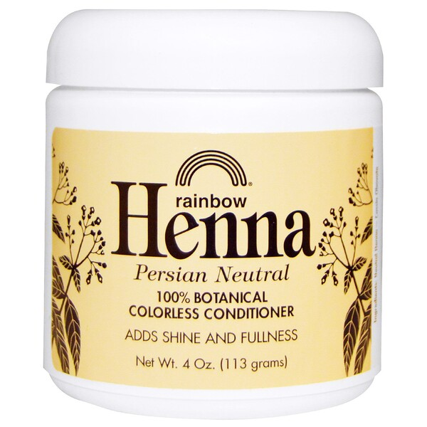 Henna, Colorless Conditioner, Neutral, 4 oz (113 g)