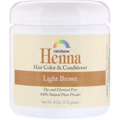 Хна, 100% растительная краска для волос и кондиционер, персидский светло-коричневый, порошок 4 унции (113 г) краска для волос хна купить