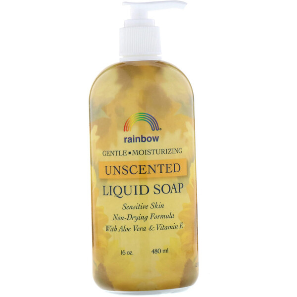 Rainbow Research, Liquid Soap, Unscented, 16 oz (480 ml) (Discontinued Item)