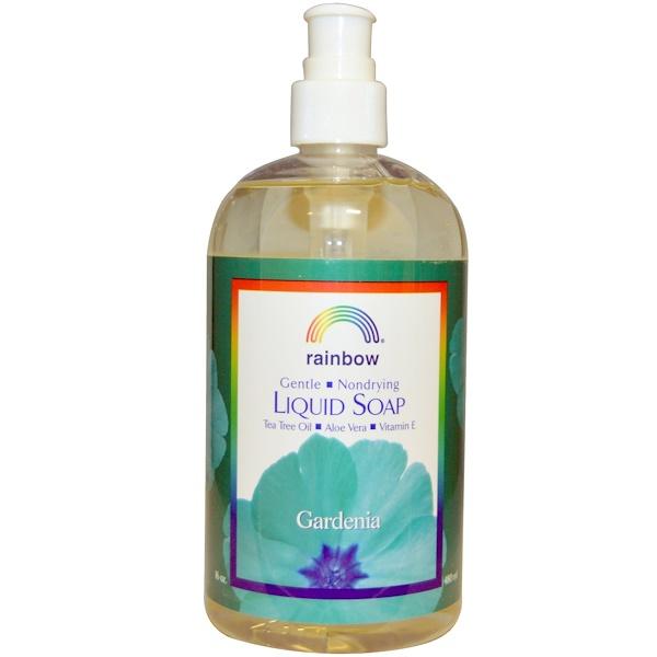 Rainbow Research, Liquid Soap, Gardenia, 16 oz (480 ml) (Discontinued Item)