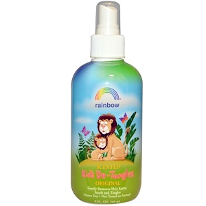 Рэйнбоу Ресерч, Original, Kid's De-Tangler, Scented, 8 oz (240 ml) отзывы покупателей