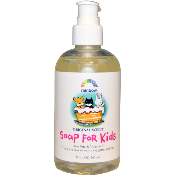 Rainbow Research, Soap For Kids, Original Scent, 8 fl oz (240 ml) (Discontinued Item)