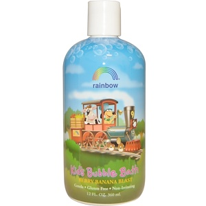 Рэйнбоу Ресерч, Kid's Bubble Bath, Berry Banana Blast, 12 fl oz (360 ml) отзывы покупателей