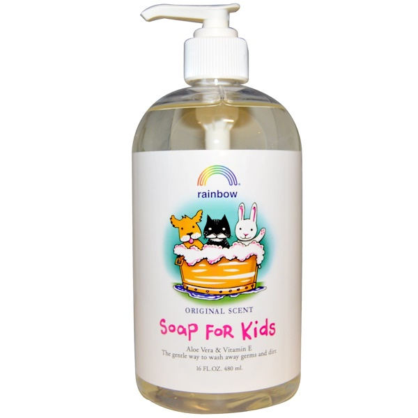 Rainbow Research, Soap For Kids, Original Scent, 16 fl oz (480 ml) (Discontinued Item)