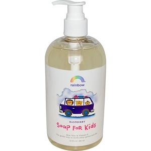 Рэйнбоу Ресерч, Soap For Kids, Raspberry, 16 fl oz (480 ml) отзывы